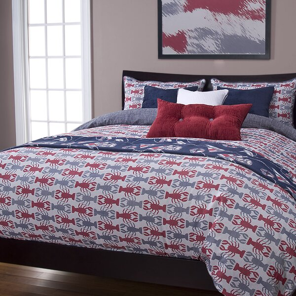 Johnstown Crustacean Duvet Cover & Insert Set