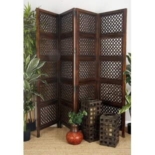 Markley 4 Panel Room Divider by Bloomsbury Market