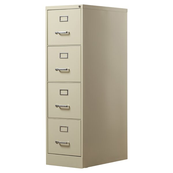 Kane 4 Drawer Commercial Letter Size File Cabinet by Brayden Studio