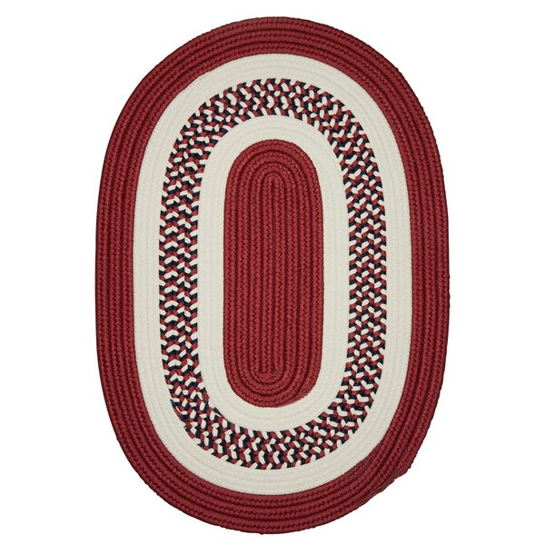 Germain Red Area Rug by Charlton Home