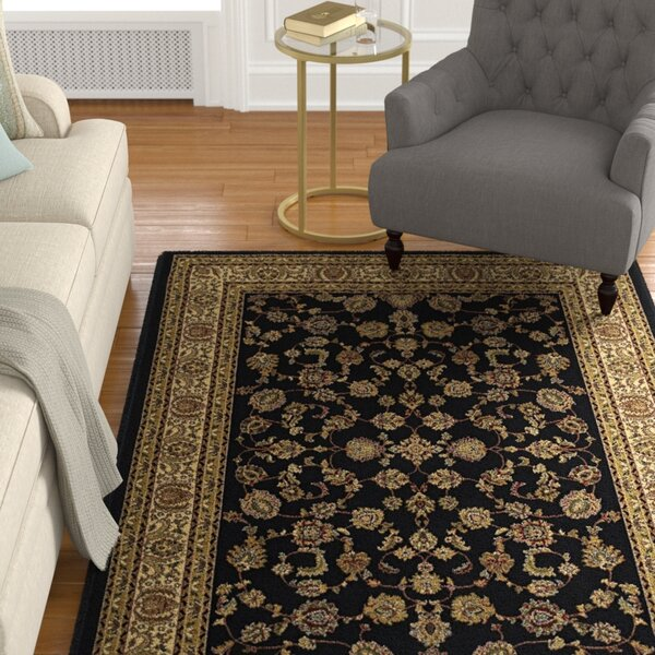 Kiana Brown/Blue Area Rug by Astoria Grand