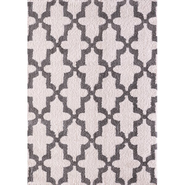 Kempf White/Silver Area Rug by Mercer41