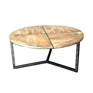 Great Price Asbury Distressed Coffee Table ByLoon Peak