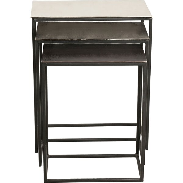 Yves 3 Piece Nesting Tables by 17 Stories