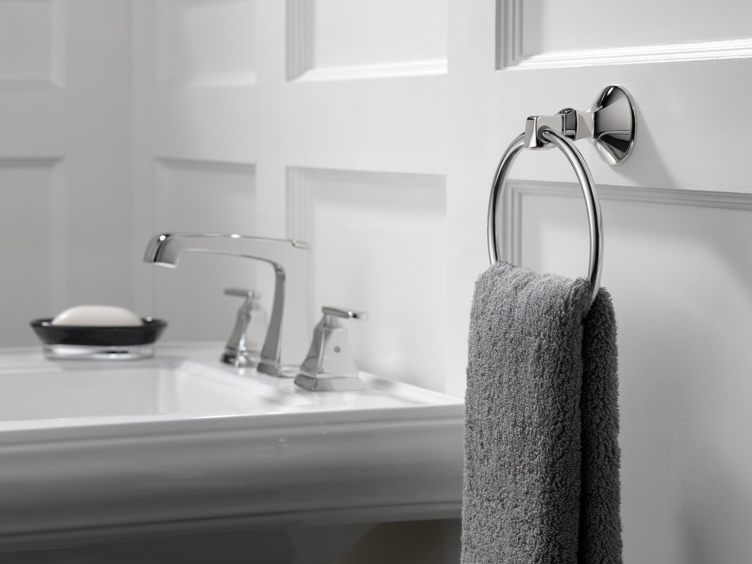 Delta Windemere B3596lf Double Handle Widespread Bathroom: Delta Ashlyn Mini-Widespread Double Handle Bathroom Faucet