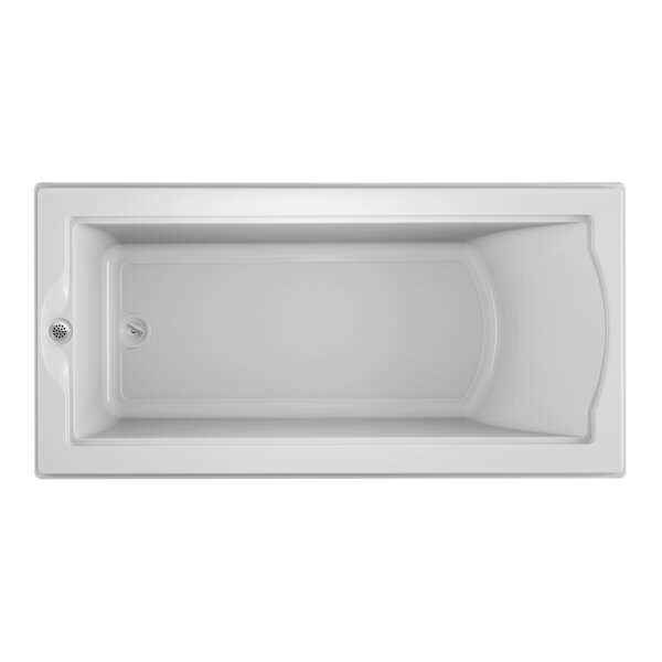 Fuzion 72 x 36 Drop-In Soaking Bathtub by Jacuzzi®