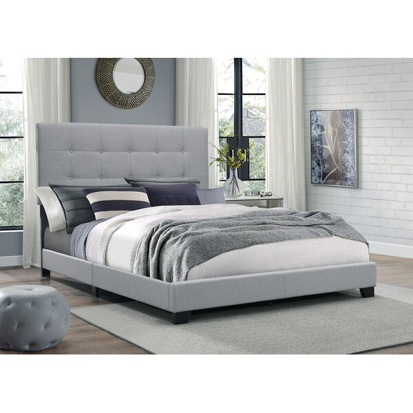 Great price Finnigan Upholstered Standard Bed By Andover Mills Cool