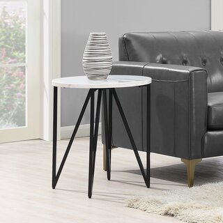 Alamo End Table by Ivy Bronx SKU:BA237170 Information