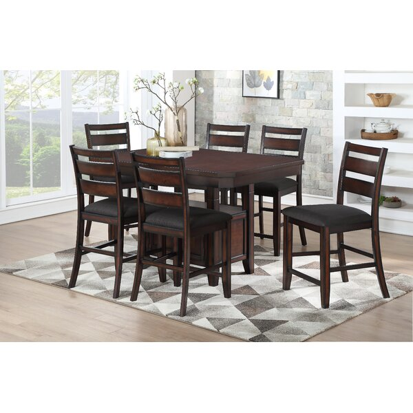 Campo 7 Piece Pub Table Set by Darby Home Co