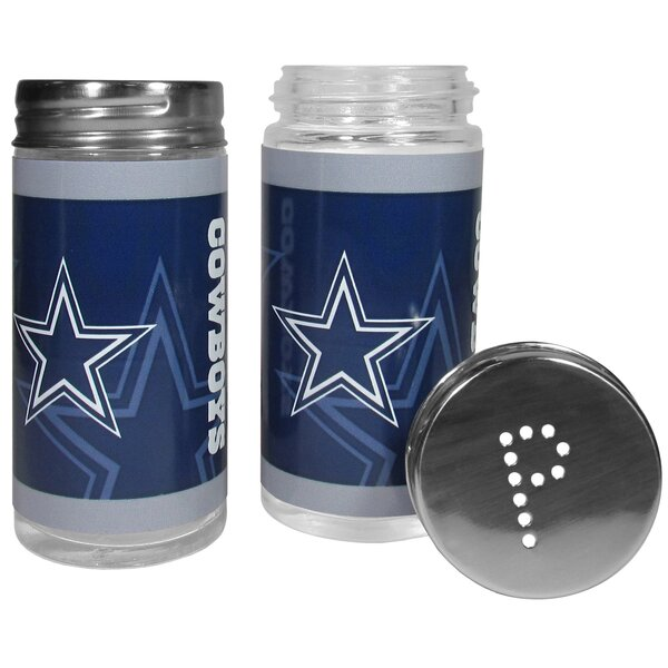 NFL 2 Piece Shakers Salt and Pepper Set by Siskiyo