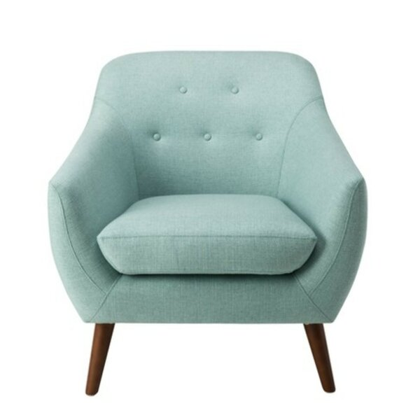 Haupt Fabric Upholstered Wooden Armchair by George Oliver