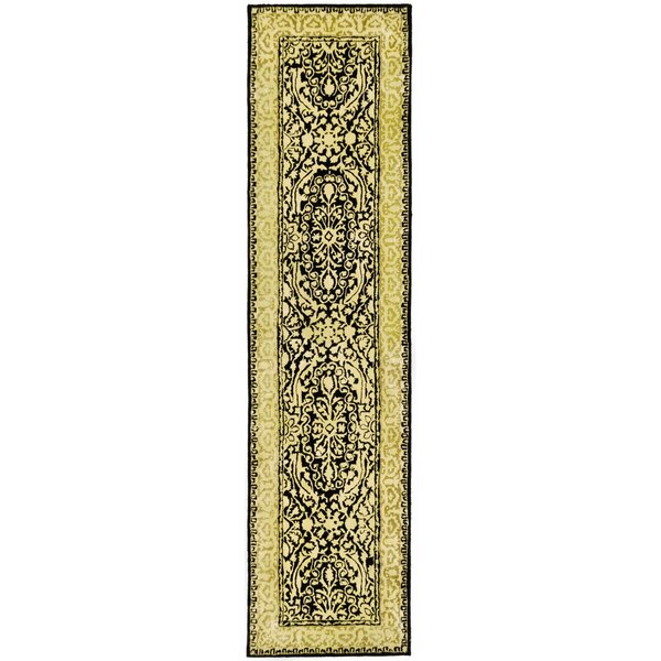 Silk Road Black/Ivory Area Rug by Safavieh