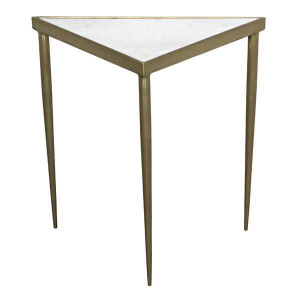 Comet Medium End Table by Noir