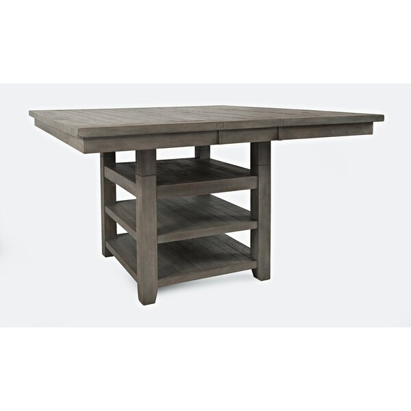 Mcilwain Solid Wood Dining Table by Gracie Oaks
