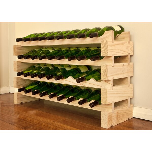 36 Bottle Floor Wine Bottle Rack by Vinotemp Vinotemp