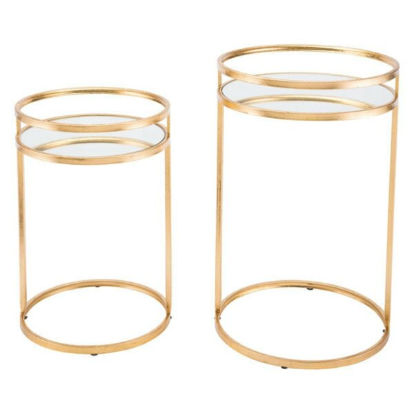 Coss 2 Piece Nesting Tables by Mercer41