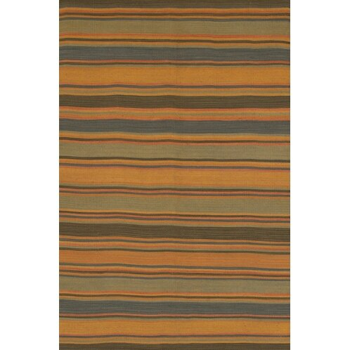 Barbazan Hand Woven Striped Rug by Loon Peak