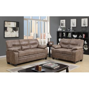 Anthea 2 Piece Living Room Set Varick Gallery