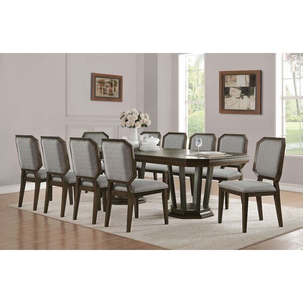 Barfield 11 Pieces Extendable Dining Set by Wrought Studio