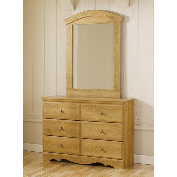 Oak Creek 6 Drawer Double Dresser by Lang Furniture