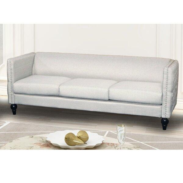 Lacayo Modern Nail-head Sofa by House of Hampton