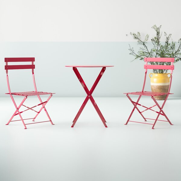 Kendrick 3 Piece Bistro Set by Hashtag Home