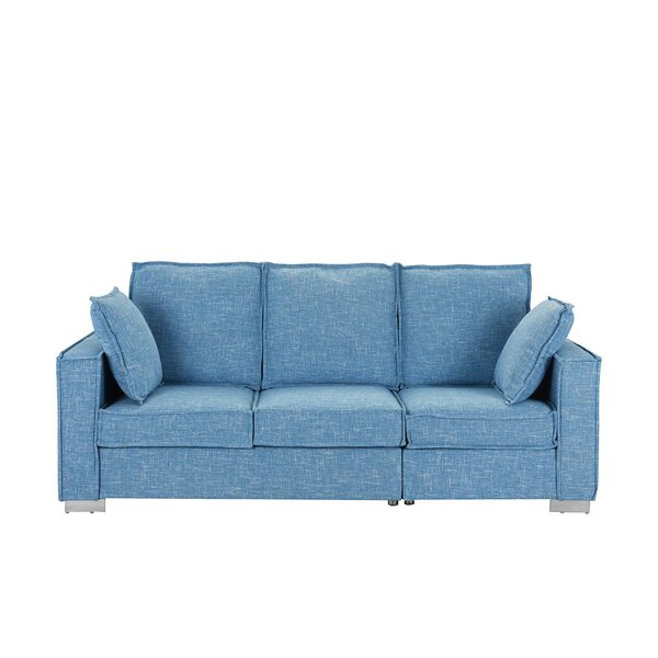 Popular Brand Cary Modern Fabric Sofa by Orren Ellis by Orren Ellis
