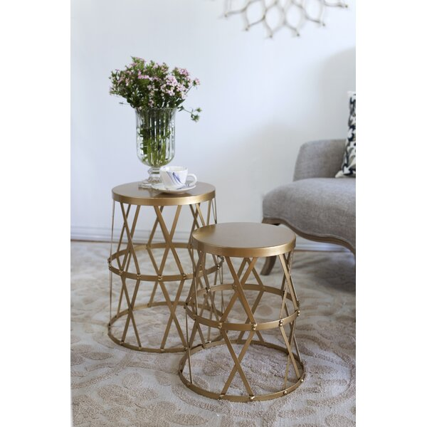 Brunelle 2 Piece Nesting Tables By Willa Arlo Interiors