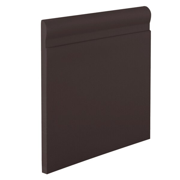 0.38 x 720 x 4.25 Cove Molding in Brown by ROPPE
