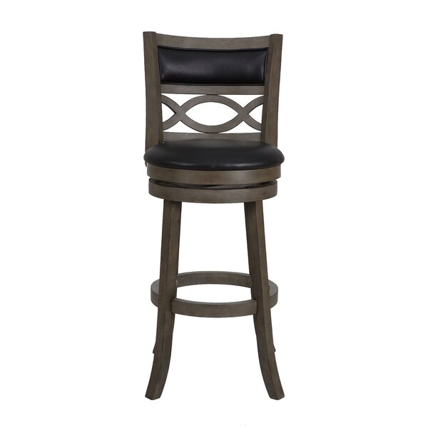 Delmer 29 Swivel Bar Stool by Canora Grey