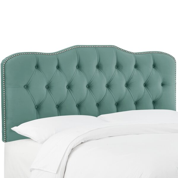 Moira Upholstered Panel Headboard by Ophelia & Co.