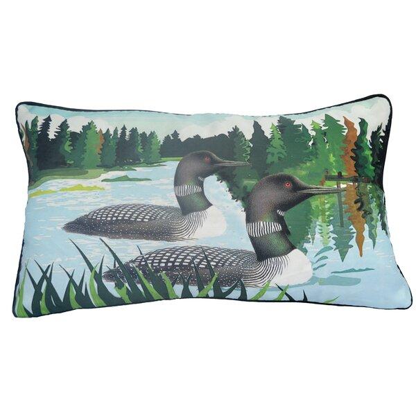 Sarita Loon Bolster Indoor/Outdoor Throw Pillow
