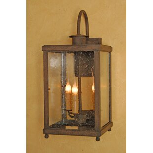 Budget Bellagio 3-Light Outdoor Wall Lantern By Laura Lee Designs