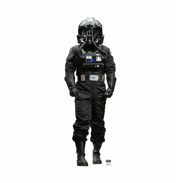 Star Wars Rogue One Atmospheric TIE Pilot™ Life-Sized Cardboard Cutout by Advanced Graphics