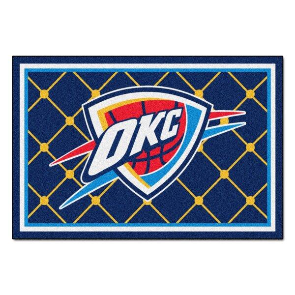 NBA - Oklahoma City Thunder 5x8 Doormat by FANMATS