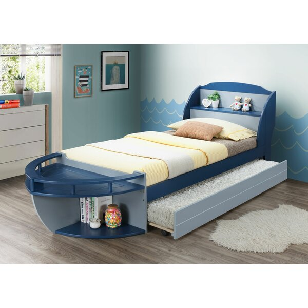 Colley Twin Bed with Trundle by Zoomie Kids