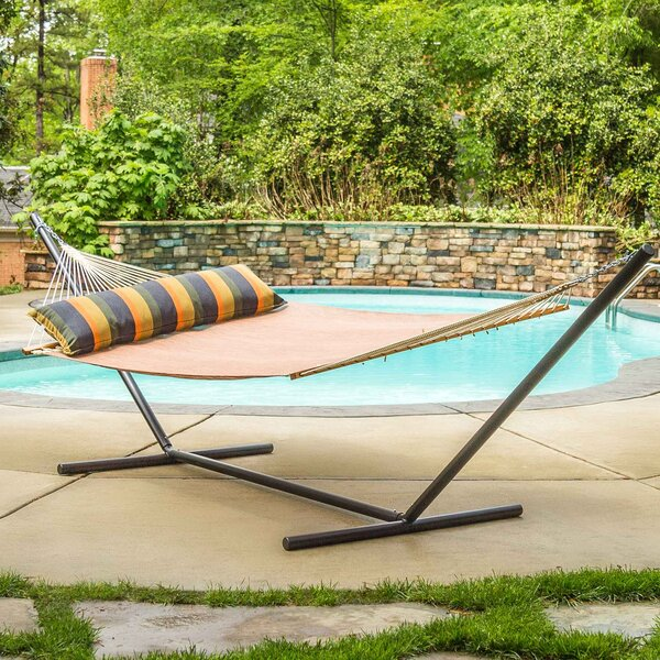 Mcburney Large Textilene Pool Side Double Tree Hammock by Gracie Oaks