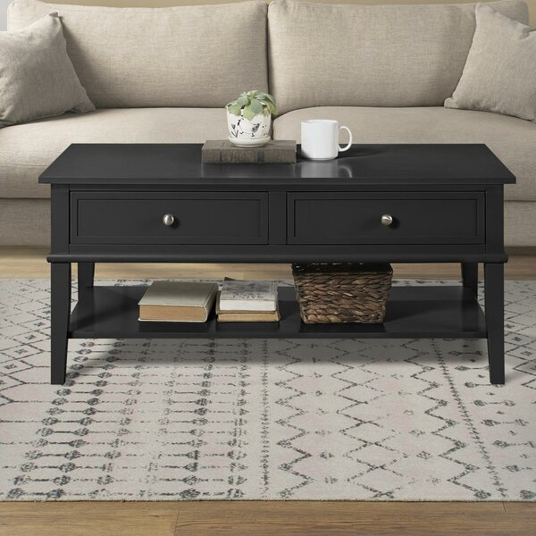 Dmitry Coffee Table with Storage by Beachcrest Home