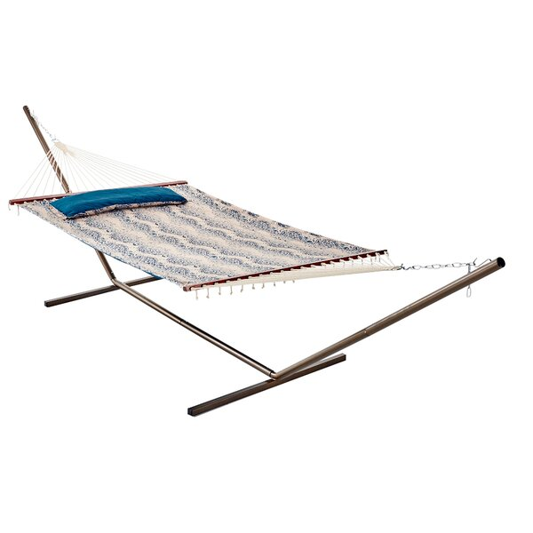 Java Cotton and Polyester Tree Hammock by Smart Living