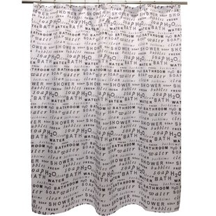 H20 Shower Curtain By Famous Home Fashions