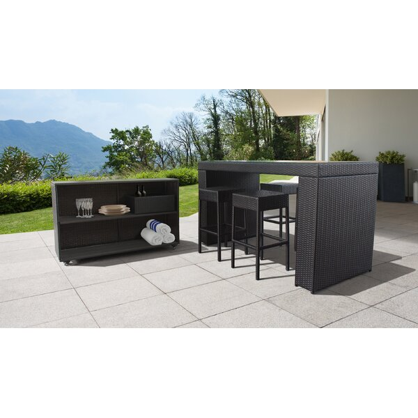 Fernando 7 Piece Bar Set by Sol 72 Outdoor