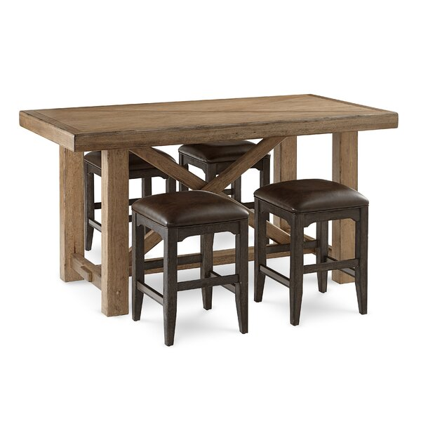 Lodi 5 Piece Counter Height Dining Set by Gracie Oaks Gracie Oaks
