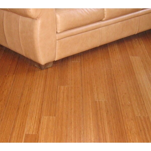 3-3/4 Solid Bamboo Flooring in Carbonized Matte by Hawa Bamboo