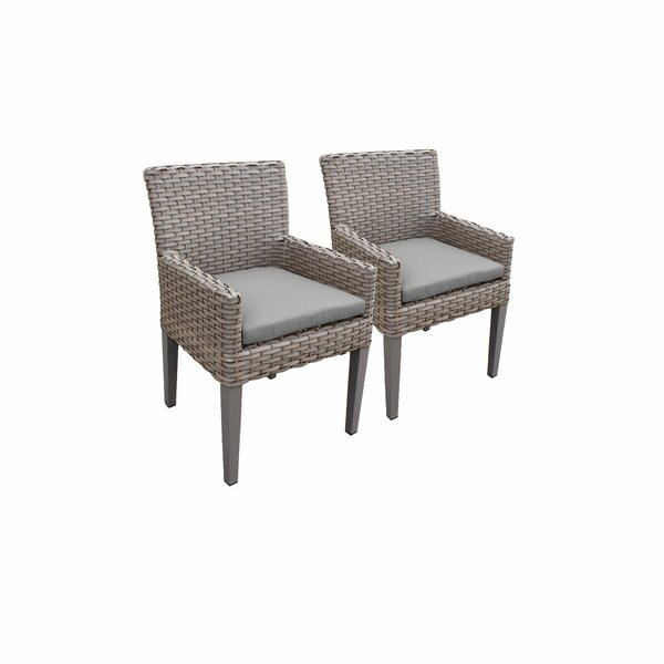 Rochford Patio Dining Chair with Cushion (Set of 4) by Sol 72 Outdoor