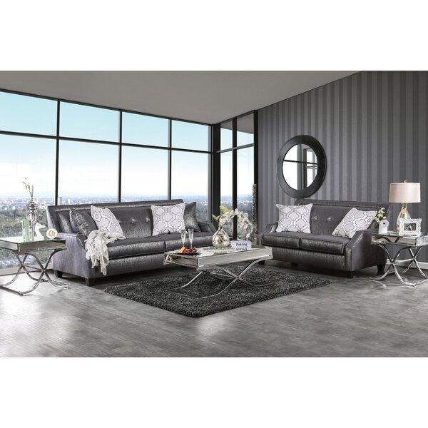 Olivia Configurable Living Room Set by House of Hampton