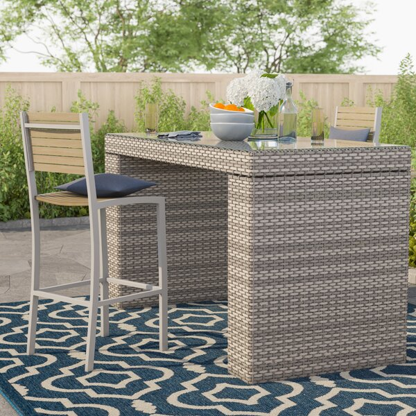 Rochford Bar Table by Sol 72 Outdoor