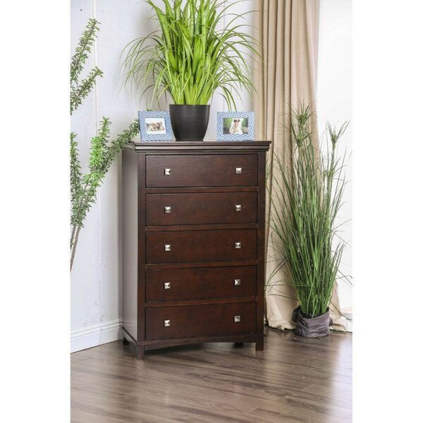Coll Transitional 5 Drawer Standard Chest by Red Barrel Studio