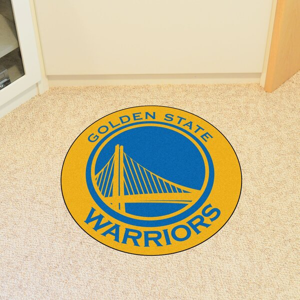 NBA Golden State Warriors Roundel Mat by FANMATS