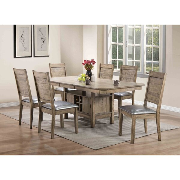 Spicer 7 Piece Extendable Dining Set by Loon Peak