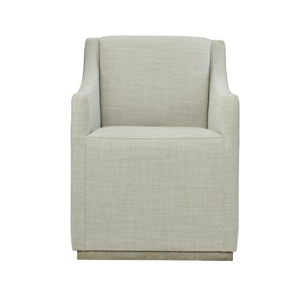 Highland Park Upholstered Arm Chair in Sand by Bernhardt Bernhardt